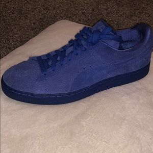 Suede classic+colored Wn's